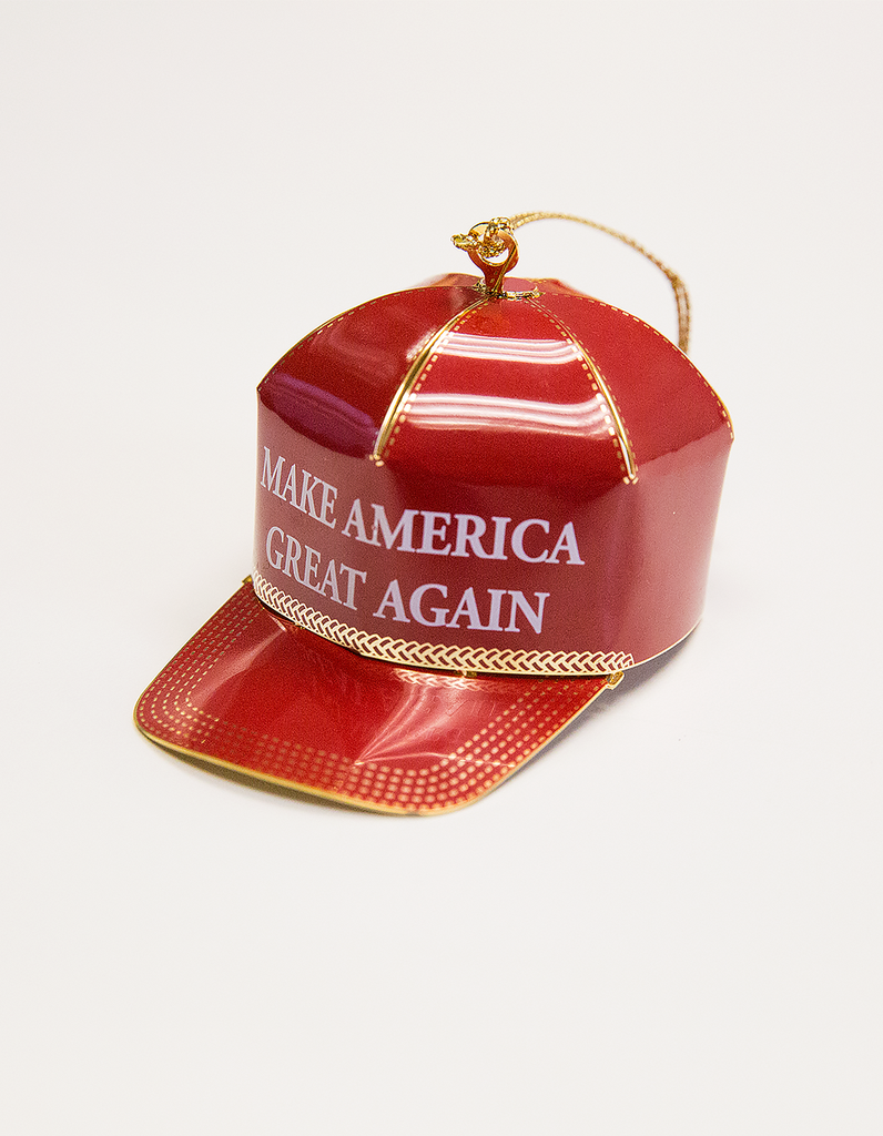 Make America Great Again Trump Christmas Ornament
