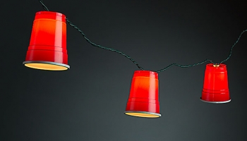 Red Party Cup String Lights