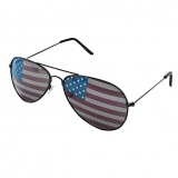USA Flag Design Metal Frame Aviators